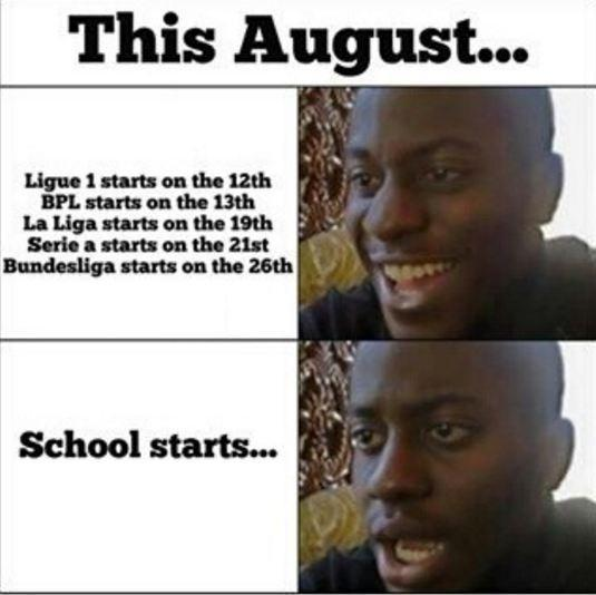 This August