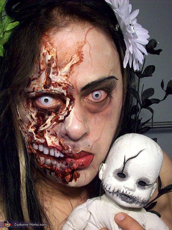 Maquillajes para Halloween Zombie.