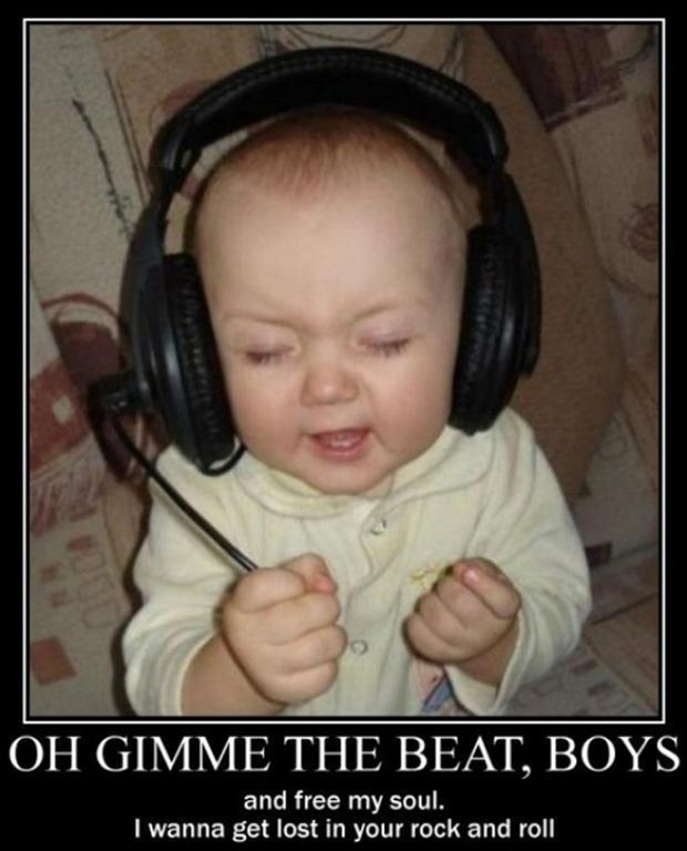 Oh gimme the beat