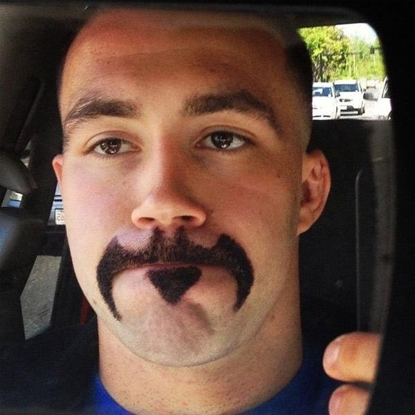 The Batstache