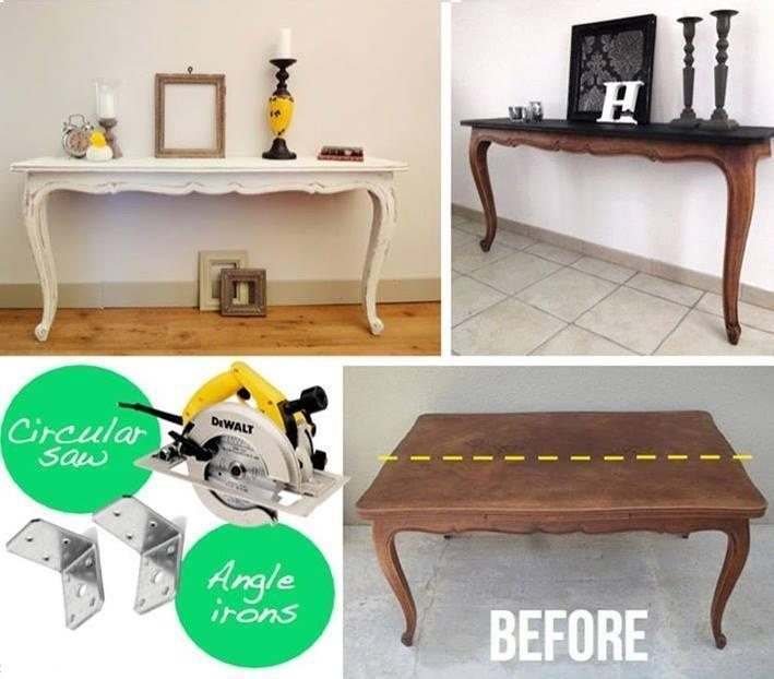 DIY Twin Tables Design
