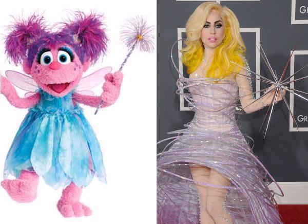 Abby Cadabby & Lady Gaga
