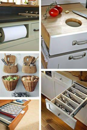 Different solutions in the kitchen