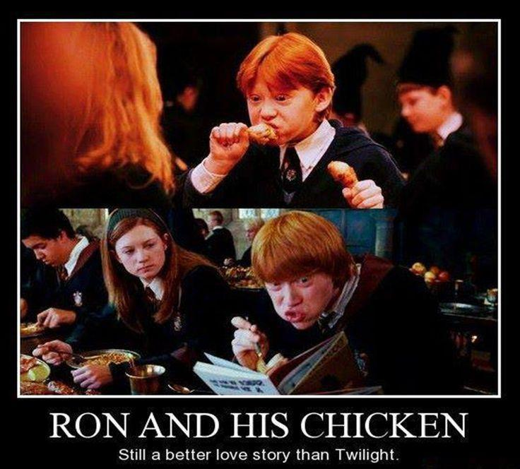 Ron and his chicken
