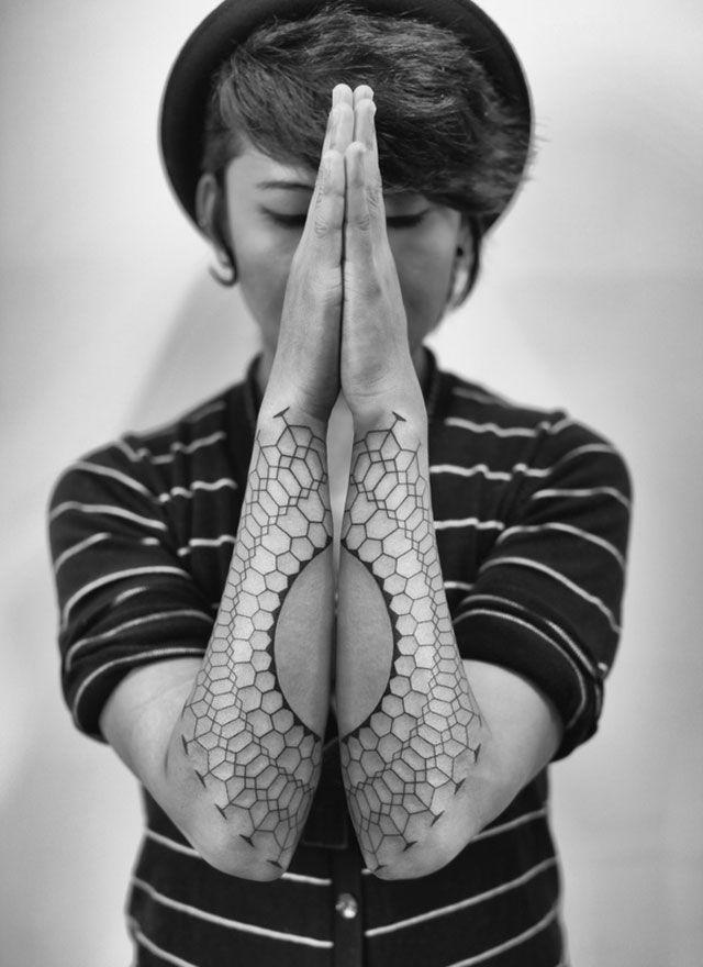 Amazing Hands tattoos