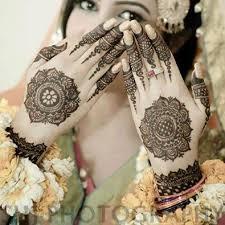 bridal mehendi style