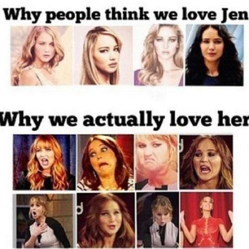 Why people love jennifer lawrence