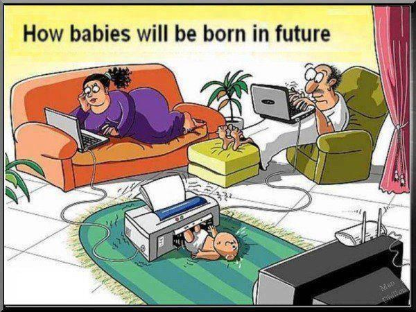How Babies Will Be Bron In Future