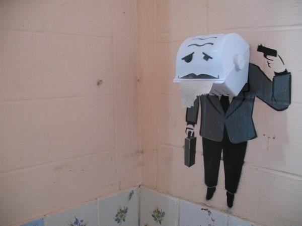 The Best Bathroom Graffiti Ever