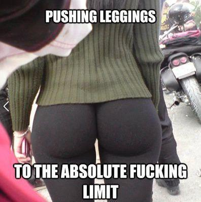 Pushing Leggings to the Absolute Limit - Tight Clothes Fail