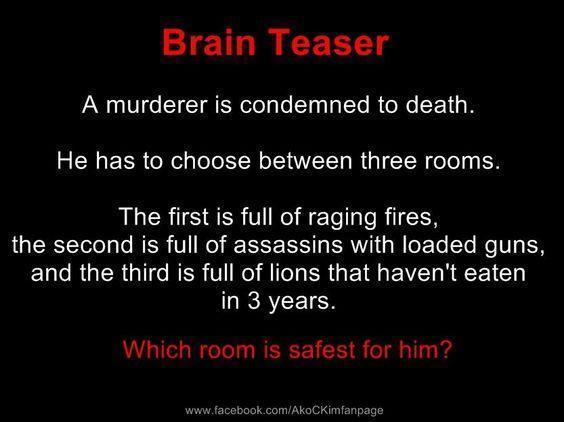 Genious Brain teaser