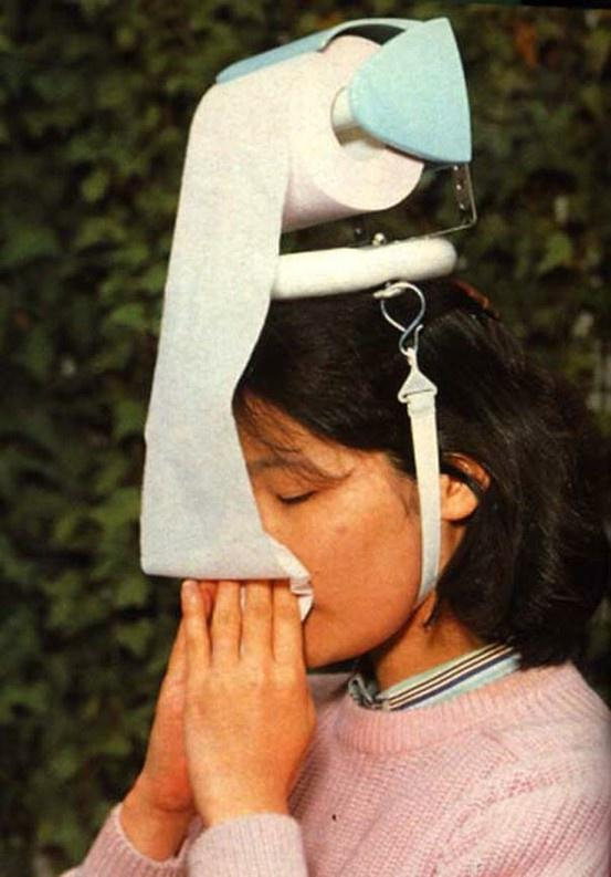 How Girls Deal with Flu.. LOL