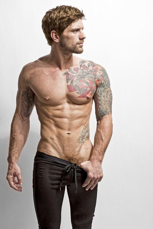 Men inked tattoos