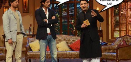 Funny Kapil Sharma and Arjun Rampal