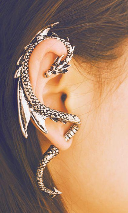 New Dragon ear cuff