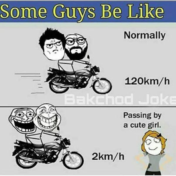 Some Guys Be like
