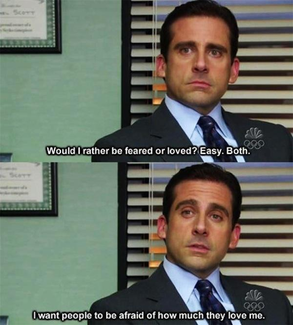 Michael Scott Funny Quotes