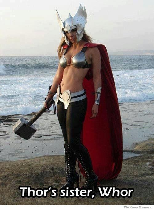 Thor's sister whor...