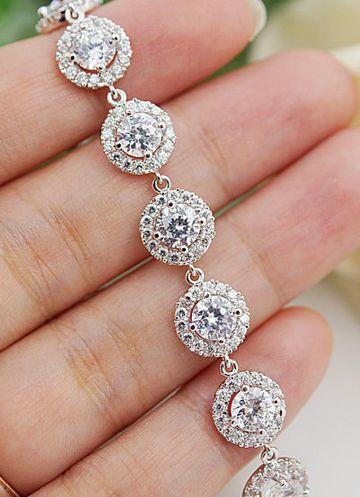 Wedding Jewelry Bridal Jewelry Bridesmaids Gift Bridal Bracelet Brides