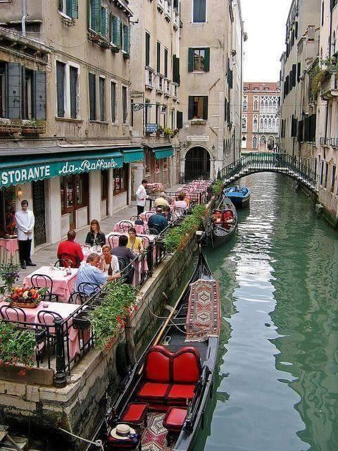 Amazing Street View of Venice Italy