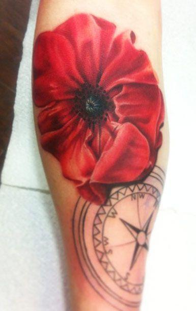 Tattoo Artist - Pete The Thief - flowers tattoo