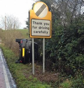 Thank you for driving carefully