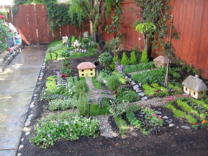 Miniature Village in your Garden
