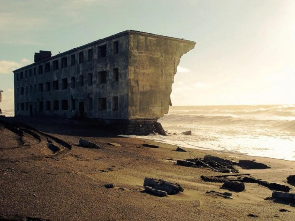 Fully Lost of Building By Great Nature