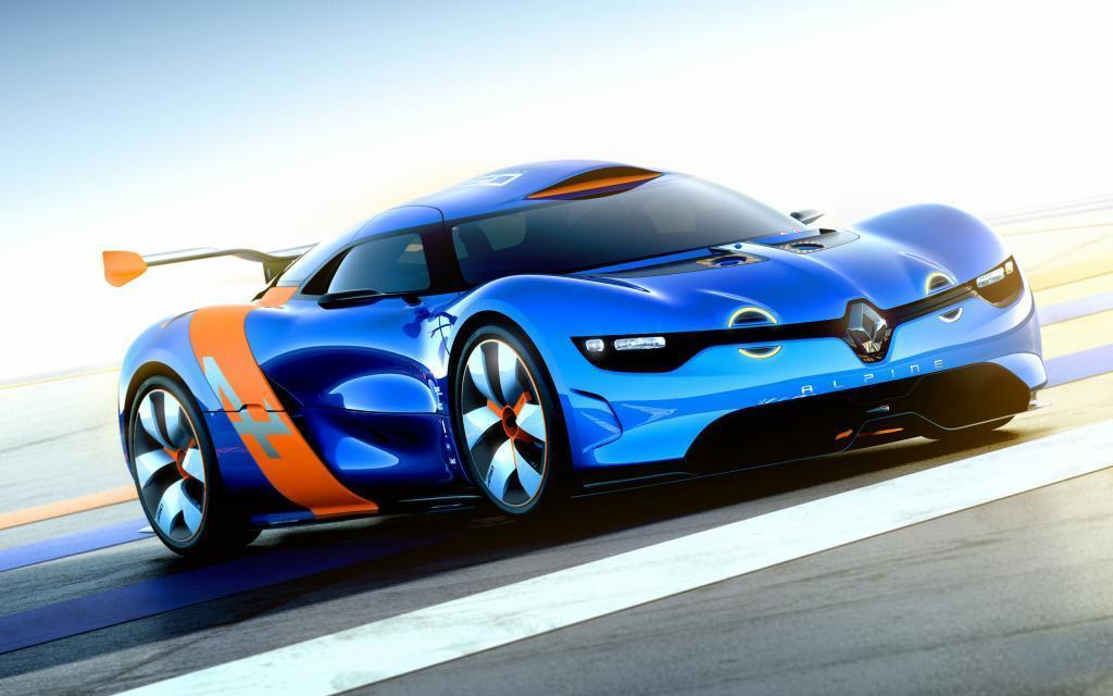 Renault Alpine Concept Car Wallpaper