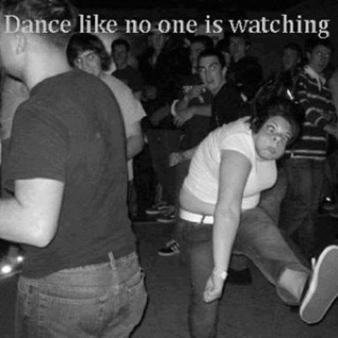 Dance Like No-One Is Watching