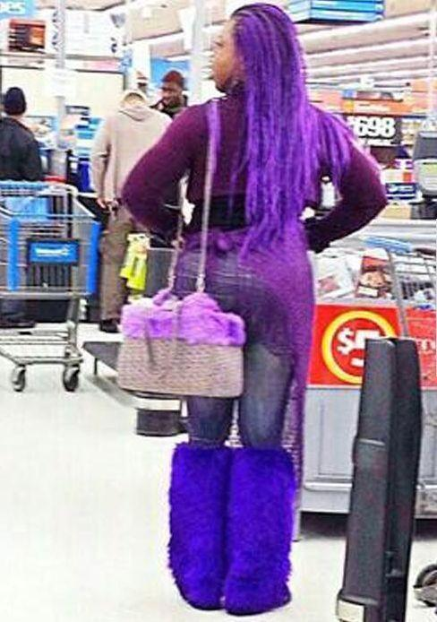 Things People Wear in Walmart. - Funny Pictures at Walmart