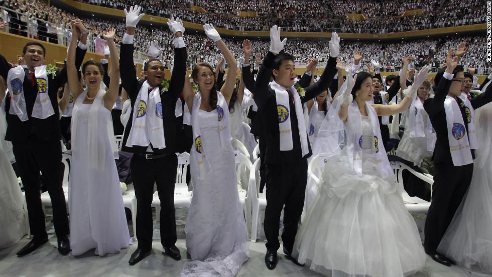 Mass Wedding Korea