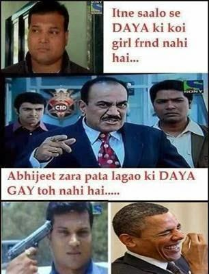 CID Quote For Sir Daya