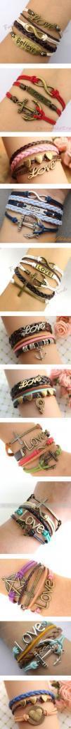 Bracelets love love love!