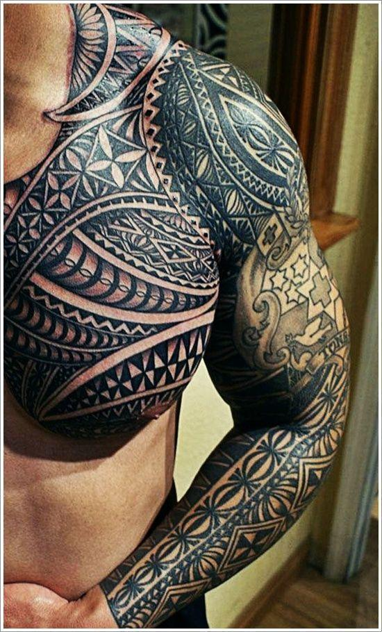 Maori Tribal Tattoo Designs For Men