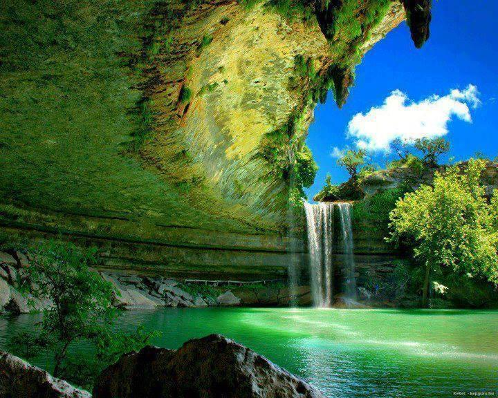 Hamilton Pool near Austin, Texas!!