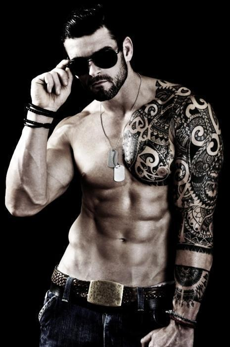 Black Tattoos for smart guy