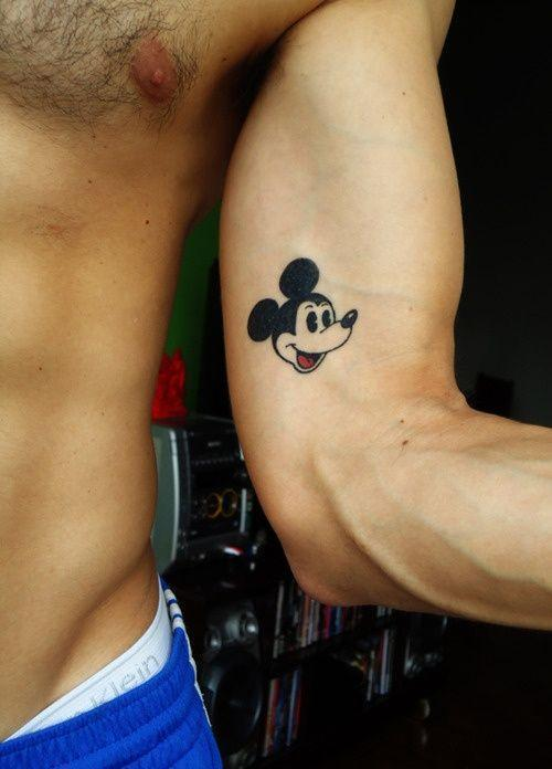 Cute placement for a guy who likes Disney haha!