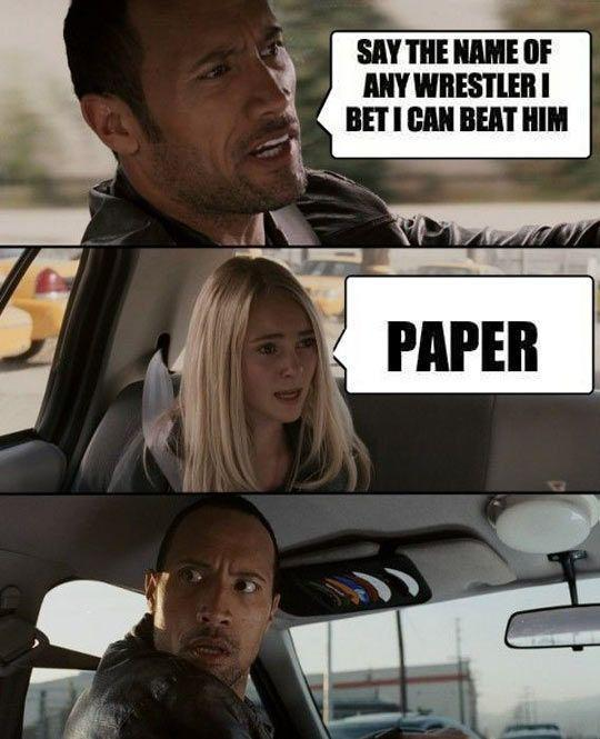The Rock's greatest nemesis…