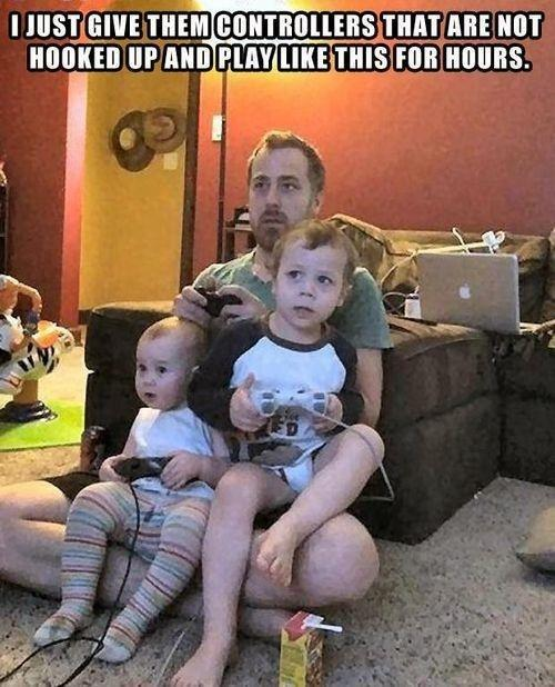 Parenting level: Genius!