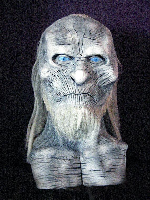 Game Of Thrones White Walker Latex Mask by NeedfulThingsStudio,