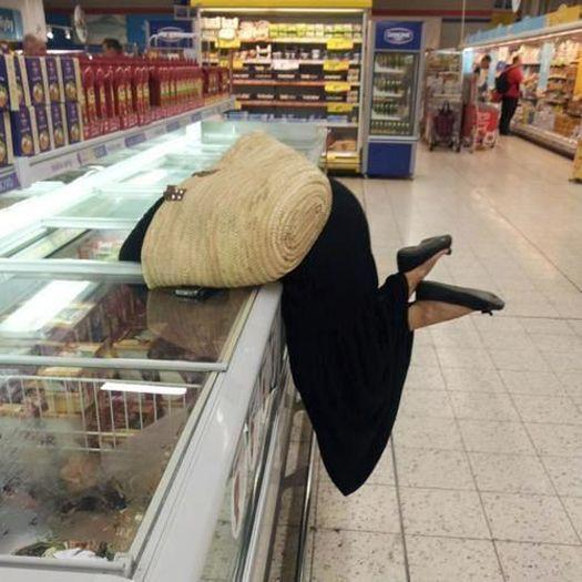 The day we lost grandma in the frozen food section.
