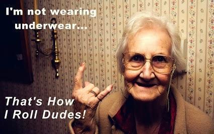 Grandma....Noooo!