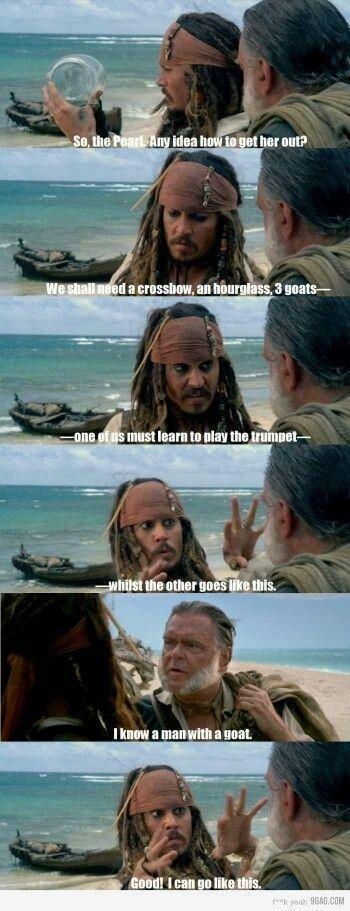pirates of the caribbean funnies