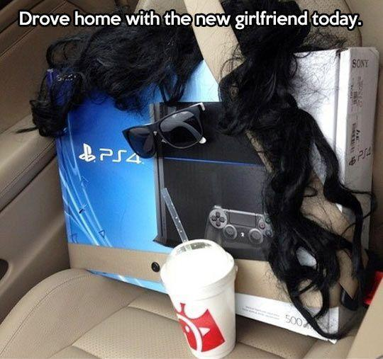 Having a girlfriend these days