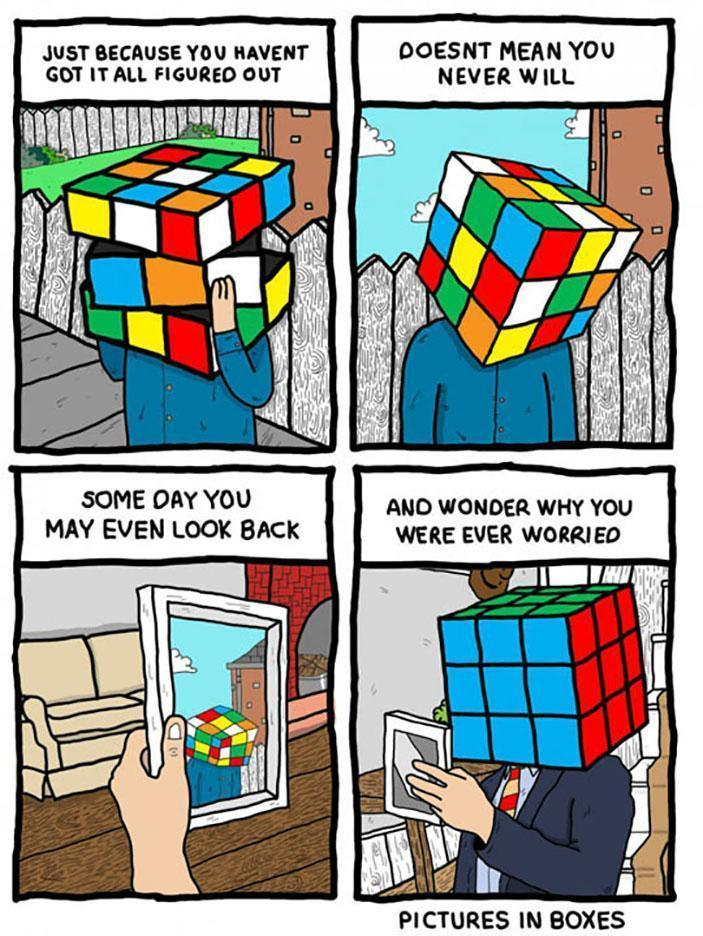 Cubes Make Danger