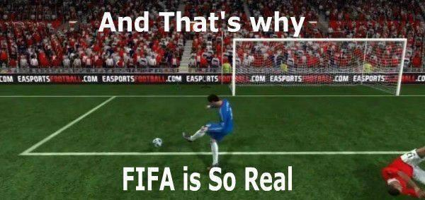 why FIFA is so real