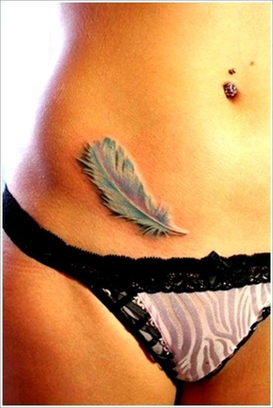 Persevering Your Feather Tattoos ideas