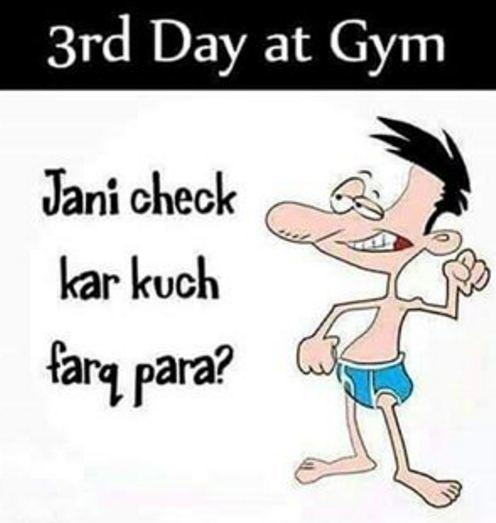 3rd day in Gym