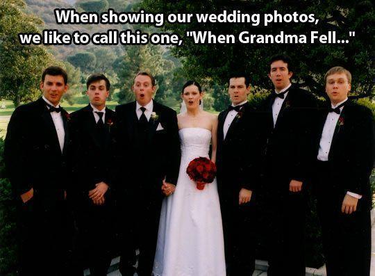 When Granma fell...